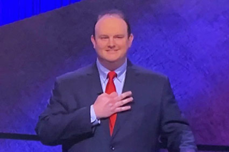 I'll take wokeism for 500: Snowflakes triggered by Jeopardy winner's 'white supremacist' hand signal