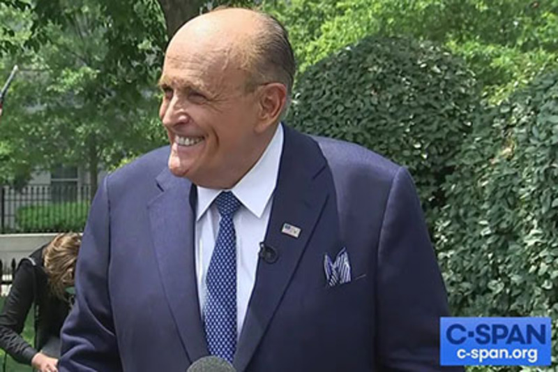 'Dept. of Injustice': Giuliani reveals FBI spied on his calls with President Trump in 2019