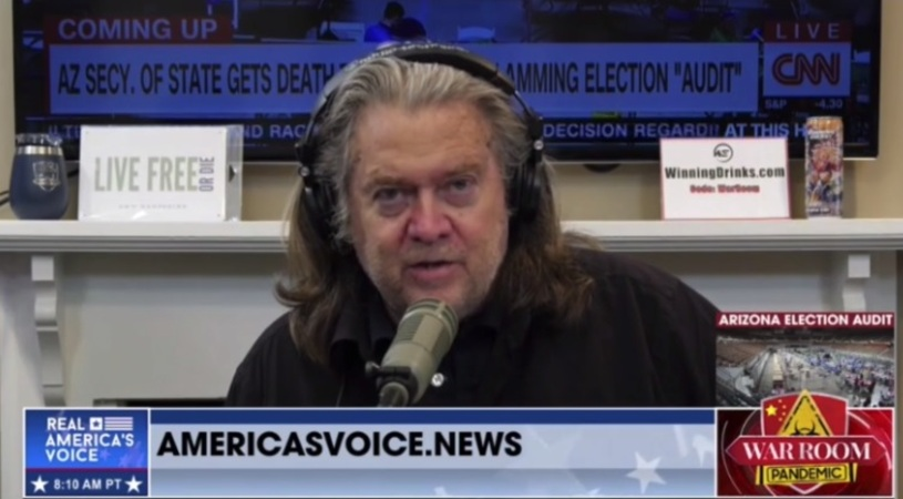Bannon on 2020 election: 'We are not going to stop ... it's all gonna come out'