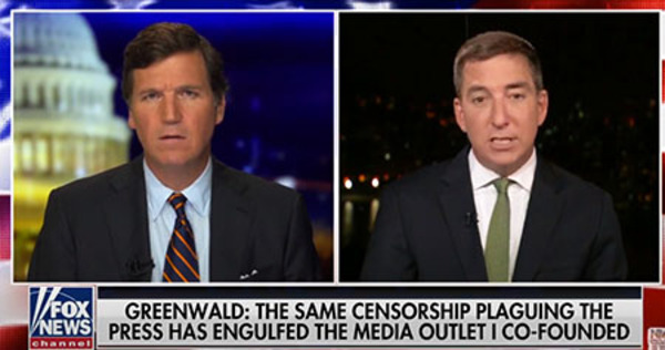 Greenwald slams overpaid 'DNC hacks' who took over 'Intercept' after he exited