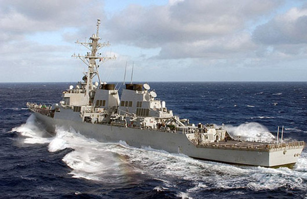 U.S., China conduct war of words; Warships jostle for position near Paracels