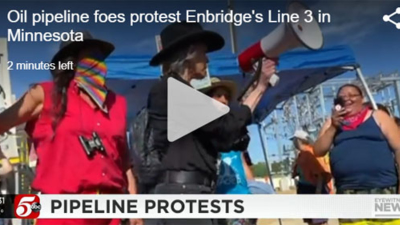 Nothing organic about this outrage: Gas money for anti-pipeline protesters