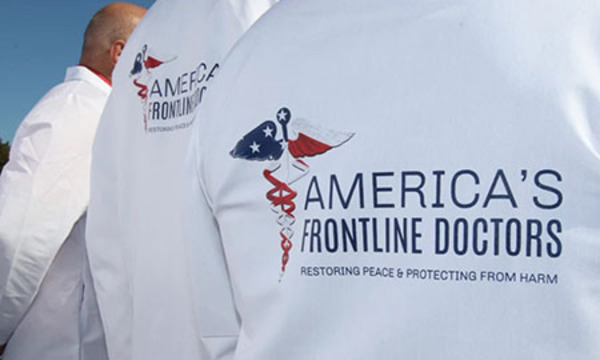 Amazon gave Frontline Doctors 4 days notice before permanently deleting its website