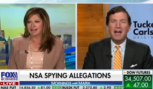 How Tucker Carlson confirmed NSA was also leaking his emails to the media