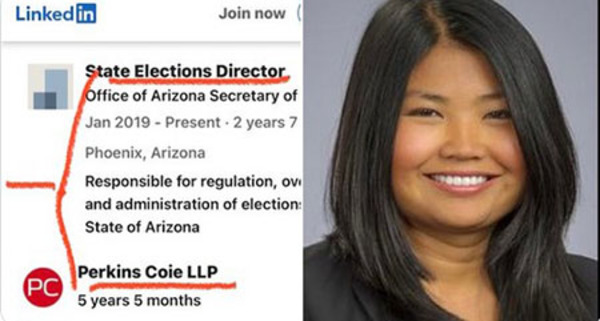Arizona's director of elections worked under Marc Elias who is filing multiple audit lawsuits