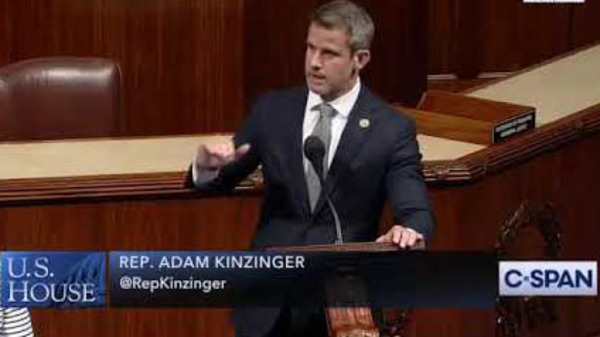 Who is Adam Kinzinger, really? The System's man from the start
