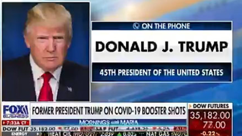 Trump on Pfizer: 'I could see the dollar signs in their eyes'; Washington hospital denying transplants to unvaxxed