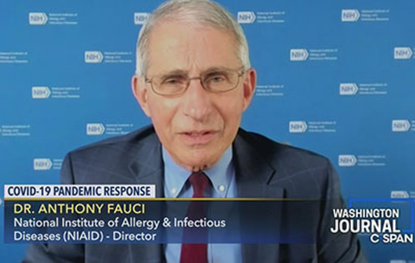 Sky News: Fauci blindsided Trump on 60 Wuhan projects with China's PLA; 'Worth the risk' of pandemic
