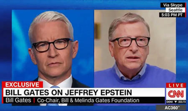 Bought and paid for: Gates funded ABC, CBS, NBC, CNN coverage of his agenda