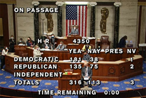 135 Republicans who voted with Democrats on gun confiscation legislation have names
