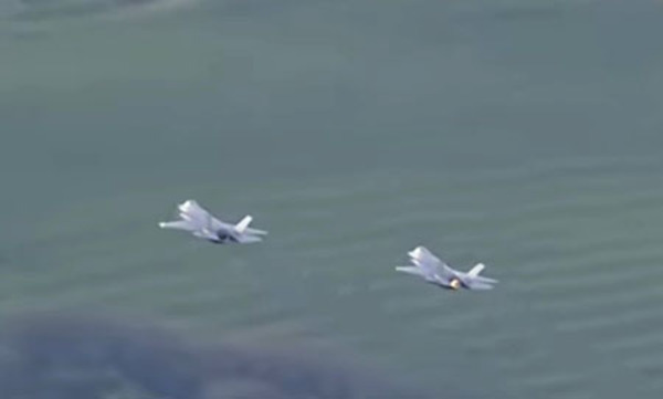 Ryder Cup finale salutes America with F-35 flyover: Moving for many, perplexing for Left?