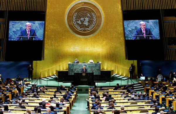 The rhetoric at this year's UN Assembly stopped at masks' edge