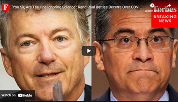Rand Paul confronts HHS chief with the 'science' on Covid natural immunity