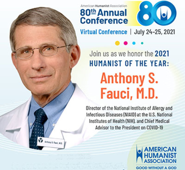 Now we know: The ruling elites, including Fauci, are devotees of the anti-God cult, Humanism