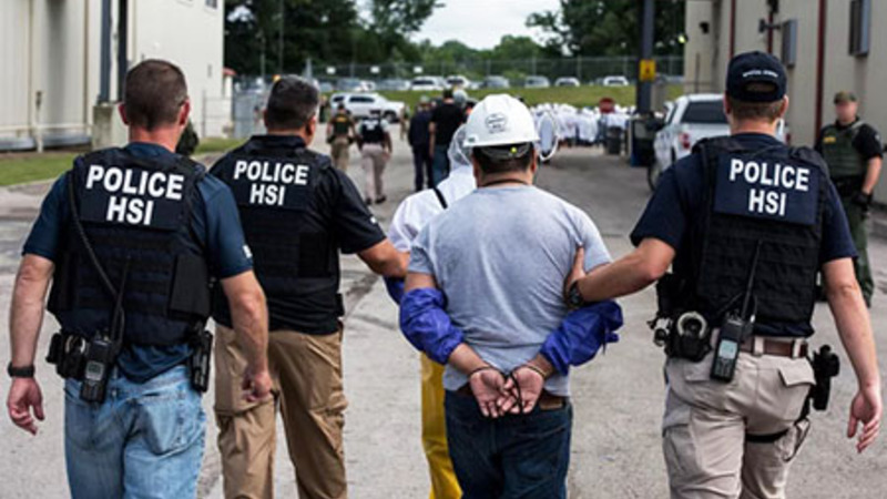 Team Biden ends ICE raids of workplaces with suspected illegals