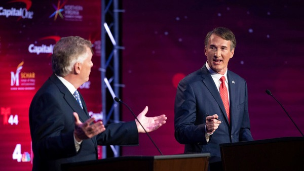 Tight race in Virginia gubernatorial showdown with three weeks until election